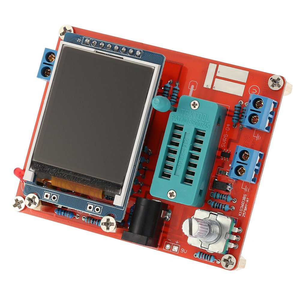 Тестер многофункциональный GM328, Тестер, транзисторов, диодов, конденсаторов, индуктивностей и другое